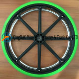 24X1 3/8 단단한 폴리우레탄 거품 휠체어 바퀴