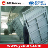 Máquina de capa del polvo con el pequeño sistema de la recuperación del ciclón