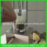 Tipo manuale sbucciatura dell'ananas e macchina di detorsolamento dell'acciaio inossidabile