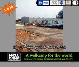 Casa prefabricada modular móvil económica para el campo de trabajos forzados