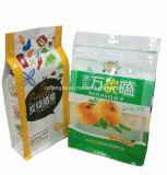 De vierkante Plastic Zak van de Bodem voor Voedsel Packaging