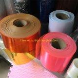 Film plastique rigide de PVC d'orange transparente pour l'emballage pharmaceutique