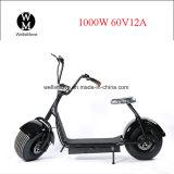 Vespa de la ciudad de la rueda grande E del estilo de Citycoco Scrooser, motocicleta eléctrica para el adulto