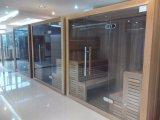 Pièce sèche de sauna de pierre traditionnelle de culture (M-6044)