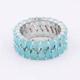 Ювелирных изделий способа Китая оптовых латунное Zirconia кольцо драгоценностей Semi