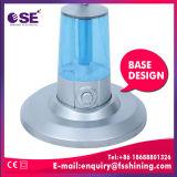 Ventilatore più freddo della foschia dello spruzzo d'acqua del basamento dell'argento da 16 pollici (MF-40-S001RN)