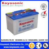 El estándar europeo 12V 200ah de MSDS seca la batería cargada del carro de la batería de coche
