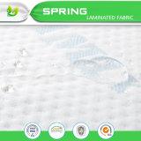 Protecteur micro de vente de matelas de fibre d'Amazone de support perméable du plastique TPU le meilleur, couverture de matelas flexible de mousse