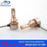 90W 12000lm A3車ライトH4/9003 H1 H3 H7 H11 9005 9006のH13 LEDのヘッドライトの自動ヘッドライトキット