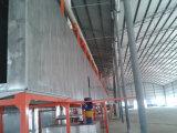 Línea 2017 de capa al por mayor del polvo de la fábrica para los productos de metal