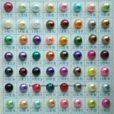 2mm 3mm 4mm 6mmの8mm半分の円形の真珠のABS真珠のエポキシの真珠(FB真珠のモモ)