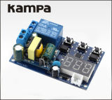 110V 220V 5A 발광 다이오드 표시 각자 자물쇠 트리거 주기 지연 시간 릴레이 PLC 가정 생활면의 자동화 지연 타이머 스위치 모듈