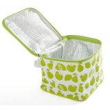 Grüner Kühlvorrichtung-Beutel mit Eis-Würfel-Reißverschluss-Abzieher Isolierbeutel