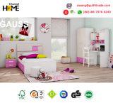 Мебель спальни популярной самомоднейшей мебели малышей цветастая деревянная (ГАУСС)