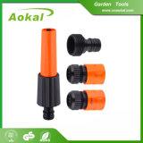 0-8 Stab-Druck-Plastikwasser-Garten-Schlauch-Strahldüse für Garten