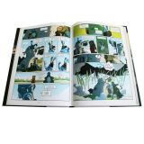Impresión profesional del libro de China, compartimiento mensual/trimestralmente de manera