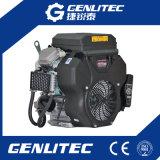Motore di benzina gemellare raffreddato aria 20HP del colpo V di Ohv 4