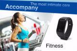 X7 Bluetooth 4.0 Armband van de Monitor van de Slaap van de Drijver van het Tarief van het Hart van het Horloge van Sporten de Slimme