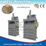 Vertikale automatische Ballenpreßmaschine für Pappe