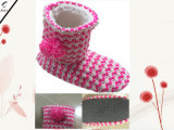 3つのカラーによって編まれる屋内靴(RY-B16026)