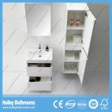 Étage et meubles fixés au mur de salle de bains avec 2 tiroirs et 2 portes (BF377D)