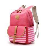 소녀 분홍색을%s 귀여운 경량 화포 학교 부대 우연한 책가방