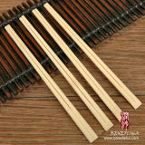 Wegwerfpapier deckte Tensoge Bambus-Ess-Stäbchen ab