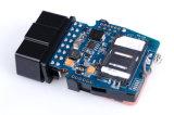 Отслежыватель Got08 OBD автомобиля GPS при реальное время внутренне антенны GSM и GPS отслеживая свободно платформу