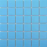 Blue Color Pool Mosaïque en céramique en porcelaine