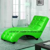Sofà di cuoio di svago del salone (UL-NS020)