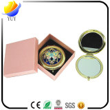 National Russian Customs Gem-Setting Hollow-out Cosmetic Mirror