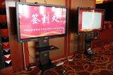 Placa educacional de venda quente Whiteboard interativo do IP do vidro Tempered do equipamento do tamanho 2016 diferente