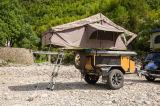 Hochwertiges wasserdichtes faltbares Auto-Dach-Oberseite-Zelt für Autoreise mit Bett und Anhang