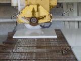 A pedra faz à máquina a máquina de estaca da ponte para o granito Hq700