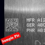 Metallo che incide la macchina rotativa piana della marcatura del PUNTINO della scheda del metallo