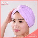 Haar-Verpackungs-Schutzkappe Microfiber Haar-trocknendes Tuch-Salon-Tuch