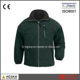 高品質のジッパーが付いている卸し売り人の北極の羊毛のジャケットの偶然の屋外の衣服