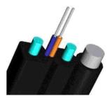Faser optischer selbsttragender Beugen-Typ Transceiverkabel