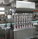Máquina de enchimento automática com linha de empacotamento de rotulagem da selagem do frasco