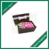 Caixa de presente ondulada da flor e flauta (FP0200018)
