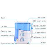 Agua Flosser con los kits ULTRAVIOLETA del producto de limpieza de discos de los dientes del jet de la desinfección