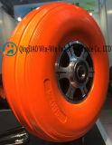 다채로운 PU 부 (3.00-4)를 가진 편평하 자유로운 PU 바퀴