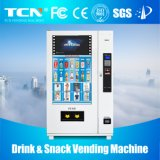 음료를 위한 가득 차있는 LCD 스크린 매체 자동 자동 판매기