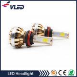 モーターLEDヘッドライト強国3600lm H8 H9 H11自動LEDのヘッドランプ