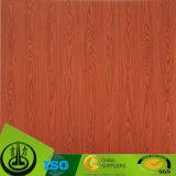Papel de madeira da grão para o assoalho decorativo
