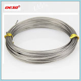 Corda de fio de aço de levantamento do cabo de 6*19 AISI