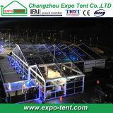 1000 de mensen ontruimen de Tent van de Markttent van het Huwelijk van het Dak