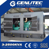 Generatore diesel silenzioso insonorizzato di potere 200kw 250kVA del Cummins Engine (CE/ISO approvati)