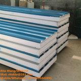 Панель сандвича EPS конструкционные материал цвета стальная для стены и крыши