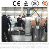 Sola máquina extrusora de tornillo de plástico Reciclaje de peletización (PP + TPE)